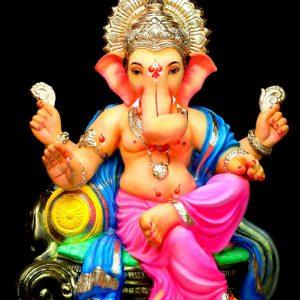 Kripalu 2.5 Feet Eco Friendly Paper Ganesha