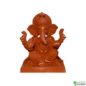 Velling 18 Inches Eco Friendly Plant Ganesha