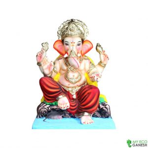 Velling (NS) 18 Inches Eco Friendly Clay Ganesha