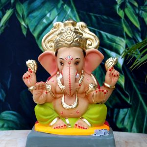 "Tulashibagh (Tirupati) (12"" - RV) - Mehendi Green"
